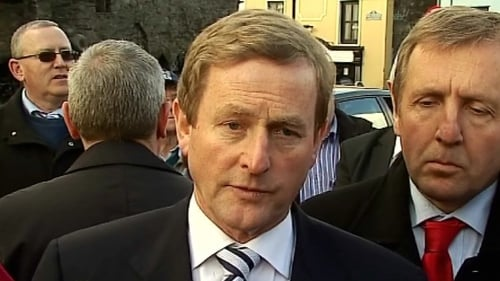 Enda Kenny - Polls suggests will be next Taoiseach
