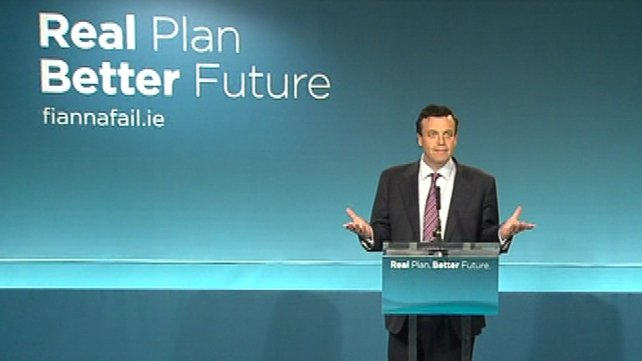 Brian Lenihan - 'What we have seen to date are dishonest plans'