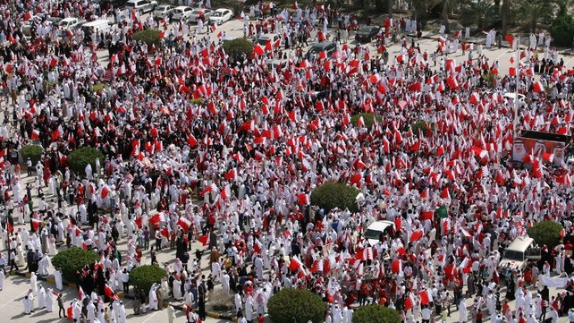Bahrain - Pro-government supporters held their own rally