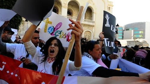 Tunis - Fresh rallies held in capital