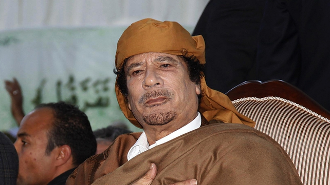 Muammar Gaddafi - Son vows to crush revolt