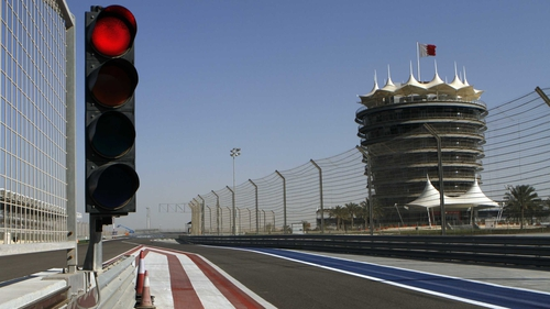 Protests and violence again sparked up close to the Bahrain International Circuit