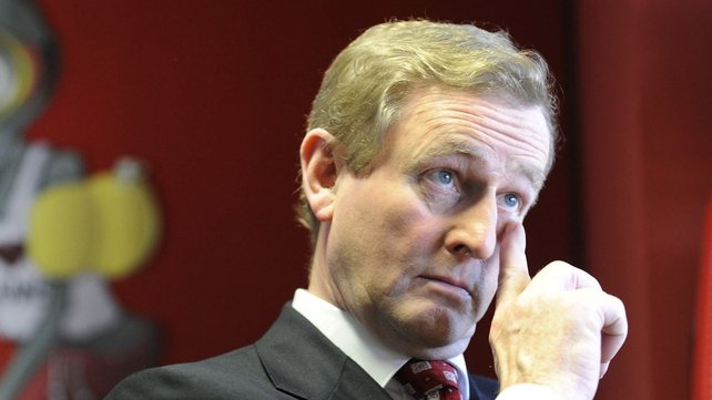 Enda Kenny - New poll shows FG support at 37% (Pic: Liam Sweeney)