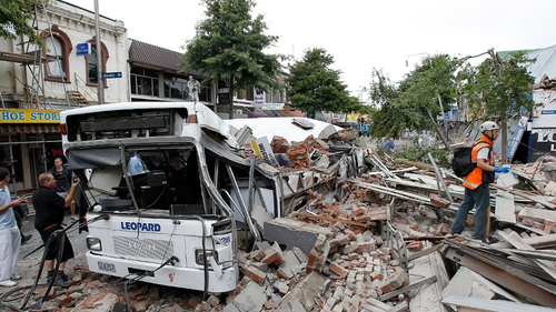Christchurch - 6.3 magnitude earthquake hit on 22 February