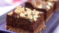 Baked Chocolate and Hazelnut Cheesecake - This decedent cheesecake is fabulously smooth, silky and rich. It is perfect if you want to make something the day before and keep it in the fridge until needed.