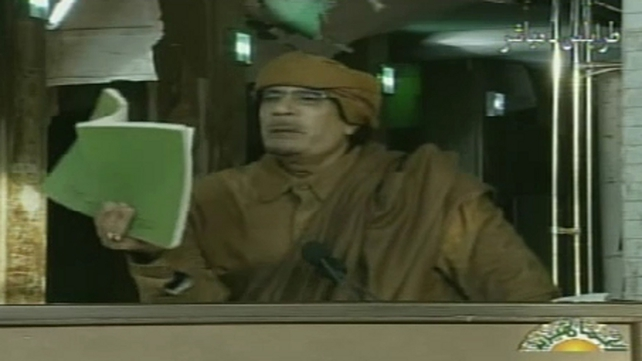 Muammar Gaddafi - 'We Libyans have resisted the United States and Britain in the past. We will not surrender.'
