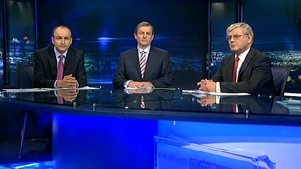 Prime Time - Three party leaders in final debate of campaign