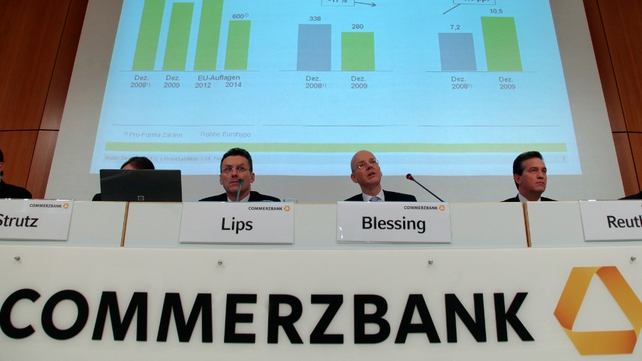 Commerzbank CEO Blessing is foregoing his bonus claims