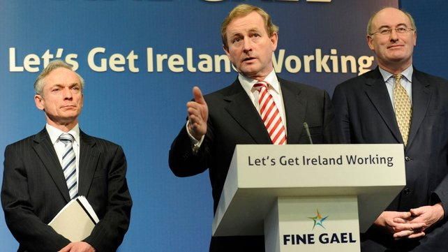 Fine Gael - Strategy for first 100 days in office
