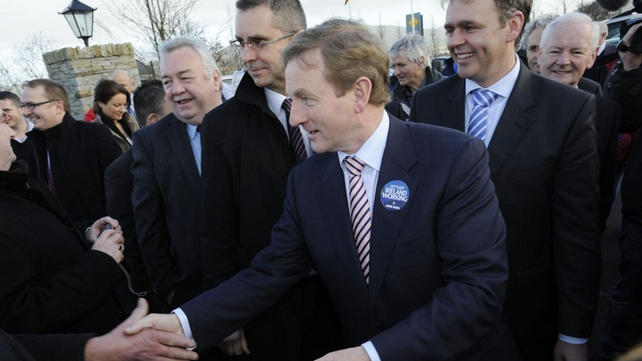 Fine Gael - Enda Kenny canvassing in Donegal
