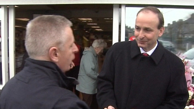 Fianna Fáil - Micheál Martin is on homeground in Cork