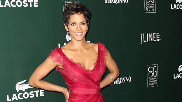 Halle Berry is said to have broken her foot while chasing a goat
