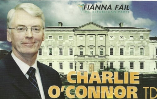 Charlie O'Connor's Canvass Card image for Election 2011
