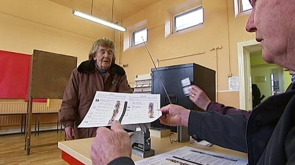 Galway - Islanders got to cast their vote today