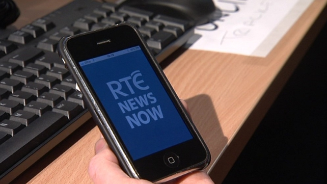 DRG was involved in development of RTÉ's News Now app