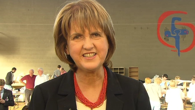 Joan Burton - Topped poll in Dublin West on first count