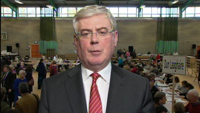 Eamon Gilmore - Topped poll in Dún Laoghaire