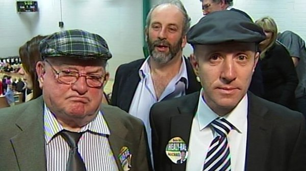 Jackie & Michael Healy-Rae - Michael denied that Jackie would have the time to make the calls