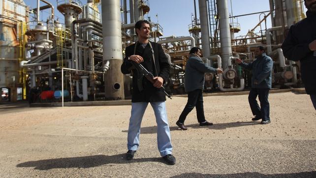Brega, Libya - Oil town