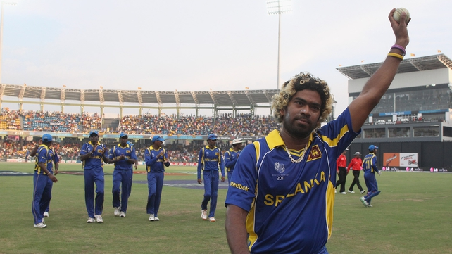 Prolific bowler Lasith Malinga and his Sri Lanka team-mates bound for Dublin