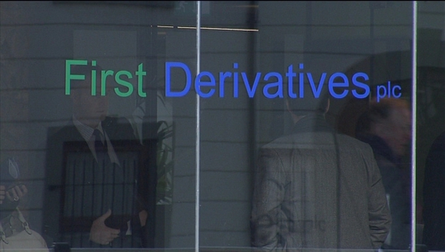 First Derivatives is headquartered in Newry, Co Down and has offices in Belfast and Dublin