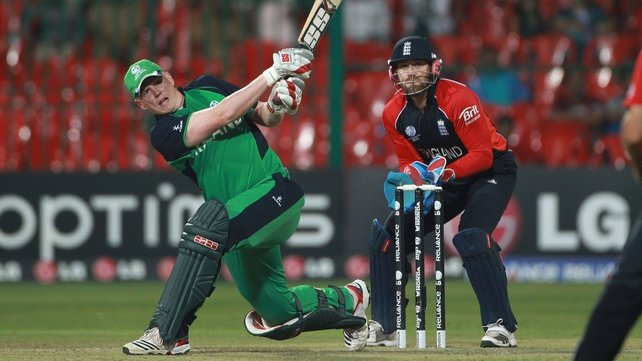 The big-hitting Kevin O'Brien will play three games in England ahead of the Caribbean Premier League
