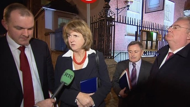 Joan Burton - Challenging situation in the banking sector