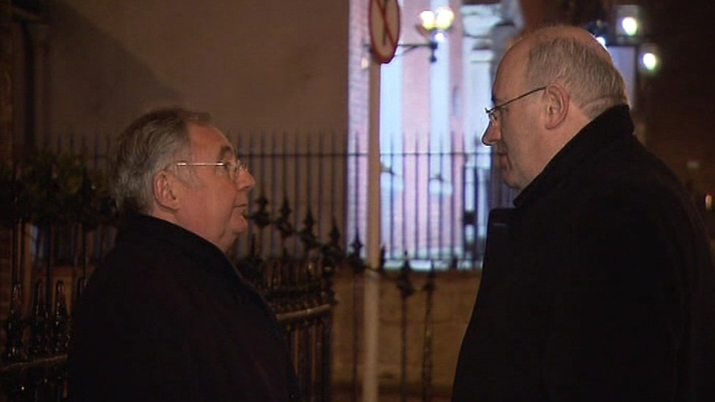 Pat Rabbitte & Phil Hogan - Talks resumed today