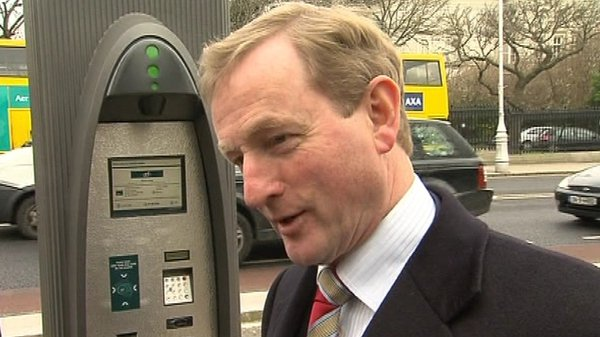 Enda Kenny - Meets fellow centre-right leaders