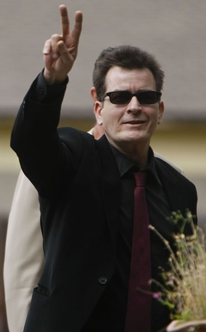 Charlie Sheen became a grandfather after his daughter, Cassandra, gave birth to a baby girl, Luna