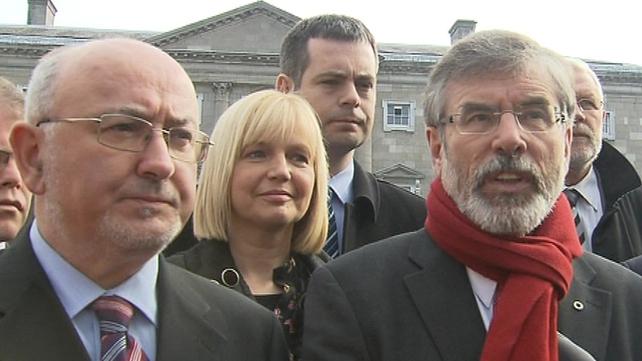 Gerry Adams - Confirmed as Sinn Féin leader in 31st Dáil