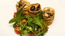 Herb Crepe with Mushrooms and Knockdrinna Goats Cheese - A delicious recipe by award-winning chef, Neil McEvoy.