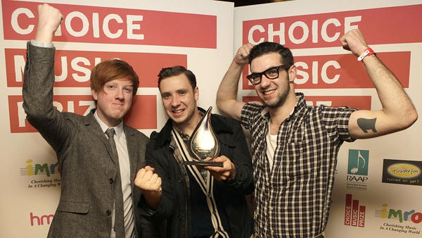 Two Door Cinema Club - Plan to donate their €10,000 prize money to charity
