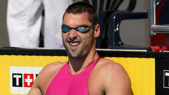 Barry Murphy: spectacular swim saw him reach 'A' standard
