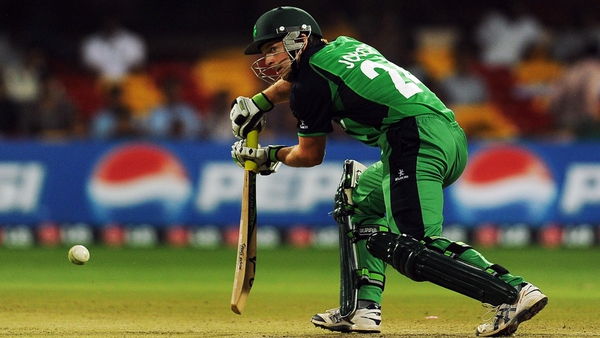 Ed Joyce hit 99 for Ireland