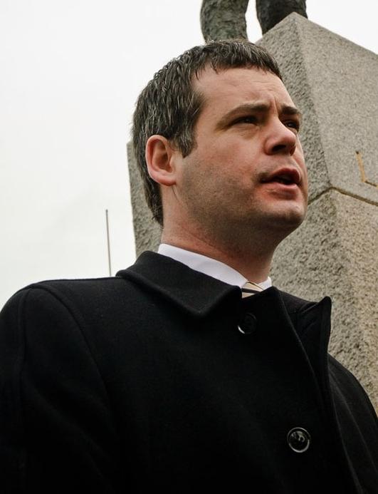 Piaras Ó Dochartaigh TD  Sinn Féin.