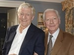 Gay Byrne with Sir Michael Parkinson