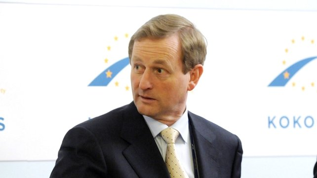 Enda Kenny - Returning from a European People's Party summit in Finland