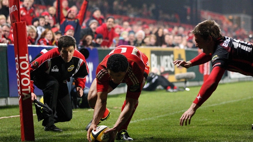 Doug Howlett leaves Munster as the province's second-highest try scorer of all time