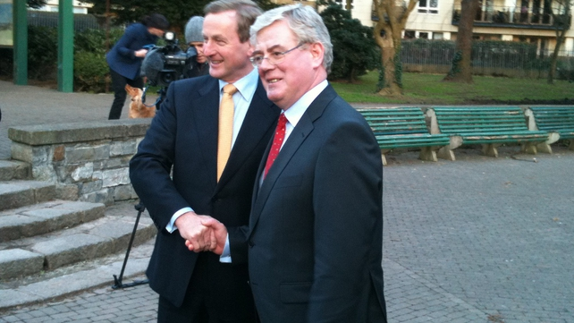 Enda Kenny & Eamon Gilmore - New Coalition Government