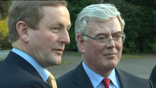 Kenny & Gilmore - Discussions on make up of new Cabinet