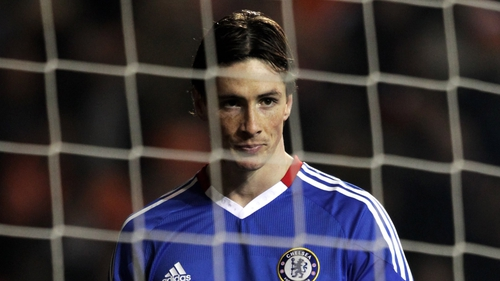 Fernando Torres - yet to find the net for Chelsea
