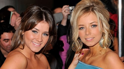 Sacha (r) with co-star Brooke Vincent