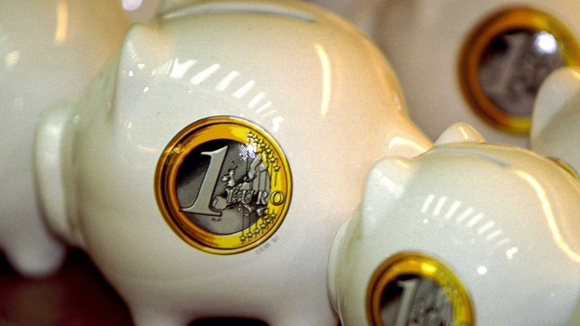 The Nationwide UK (Ireland)/ESRI Savings Index stood at 88 in December