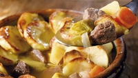 Lamb Stew Hotpot - You can also use neck of lamb or gigot chops to make this stew. Simply ask your butcher to cut it into 1½cm slices for you. This is a great nutritionally complete dinner in one pot for the whole family.