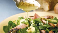 Bacon and Black Pudding Salad - A great starter for your Irish feast!