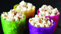 Warm Butterscotch Popcorn - Give this healthy snack a sweet twist - the kids will love it!