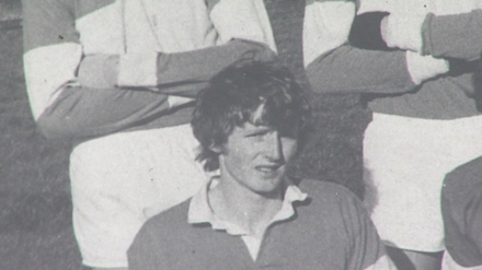Enda Kenny in his youth
