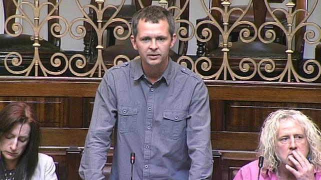 Richard Boyd Barrett - Accused Tánaiste of political and economic treason