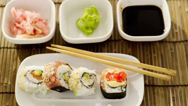 Sushi Rice and Nigiri, Gunkan and Sushi Rolls